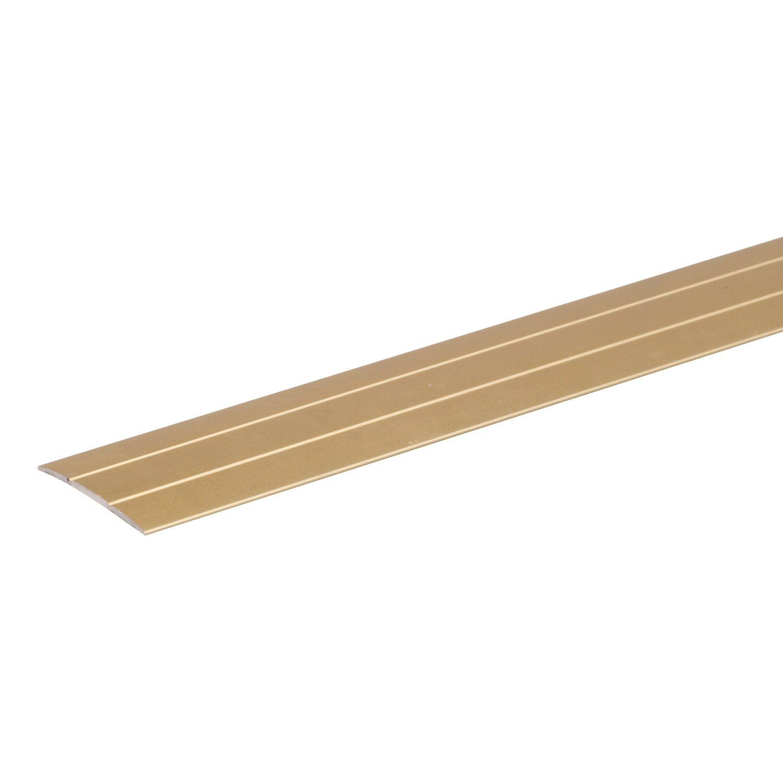 bergangsprofil selbstklebend gold eloxiert 38 mm x 900 mm kaufen bei obi. Black Bedroom Furniture Sets. Home Design Ideas