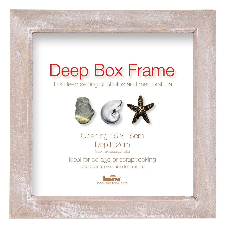 Holz-Bilderrahmen Deep Box Treibholz 15 cm x 15 cm kaufen bei OBI