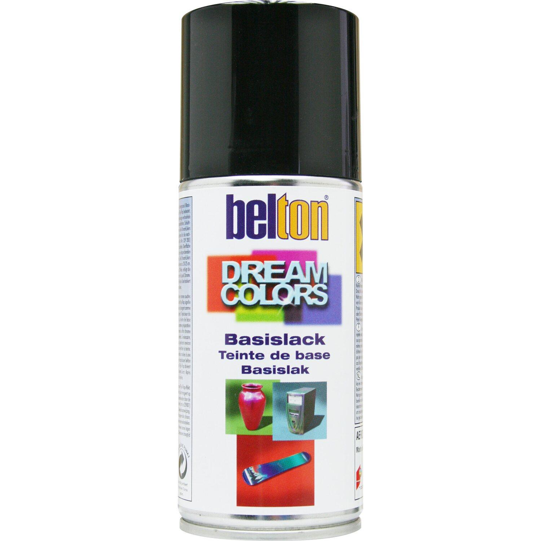 belton Belton Dream Colors Basislack Spray Schwarz glänzend 150 ml