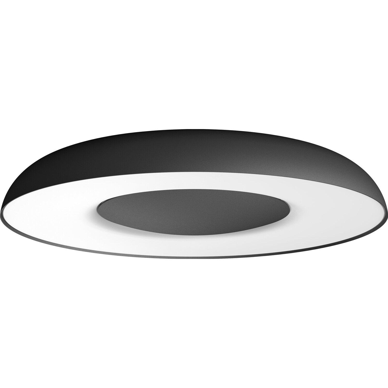 Philips Hue LED-Deckenleuchte Still inkl. Dimmschalter Schwarz EEK: A+