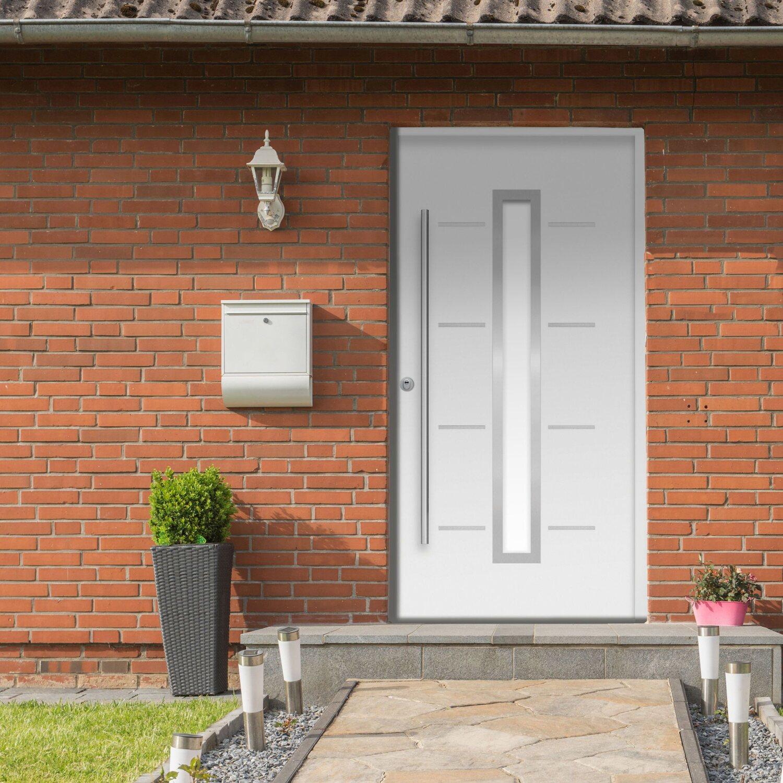 Sicherheits-Haustür ThermoSpace Milano RC2 Weiß 110 x 210 cm Links   Baumarkt > Modernisieren und Baün   Splendoor Thermospace