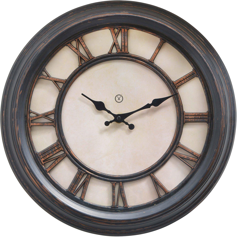 Sompex Clocks Wanduhr Liverpool Römische Zahlen Kaufen Bei Obi