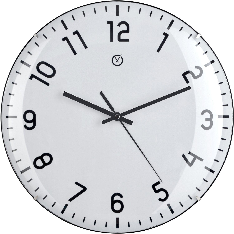 Sompex Clocks Wanduhr Quito Dome Weiß kaufen bei OBI