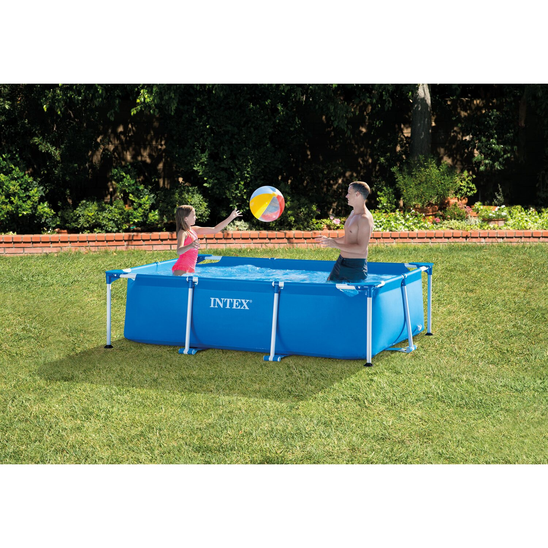 Intex rahmen pool set family 260 cm x 160 cm x 65 cm for Obi frame pool
