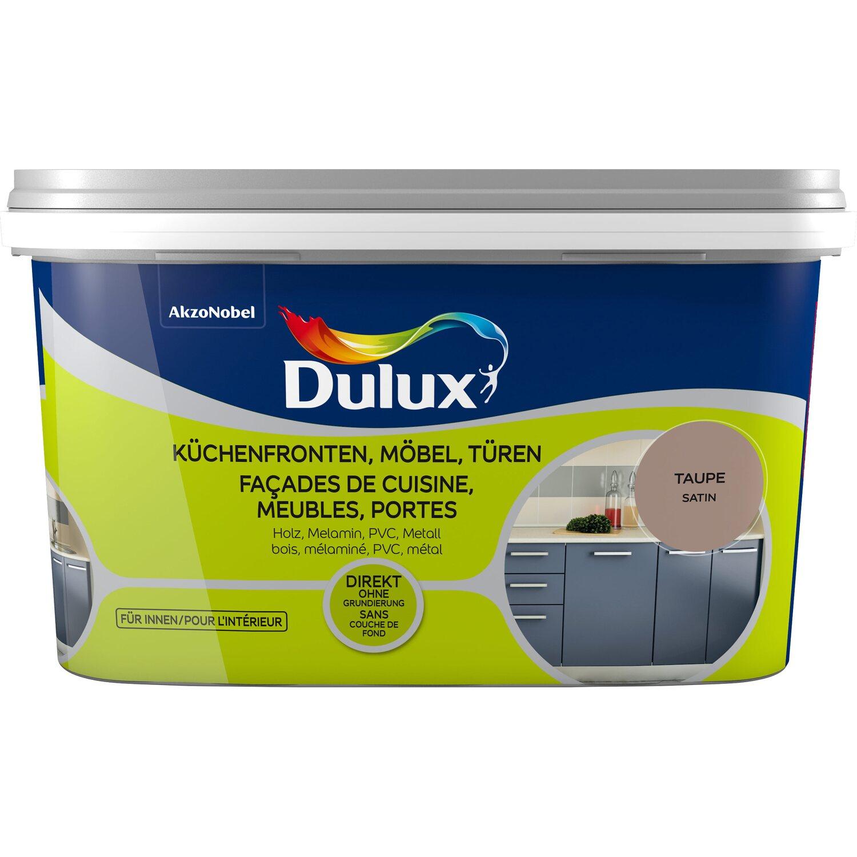 Dulux Fresh Up Lack für Küchen, Möbel und Türen Glänzend Weiß 2 l ...