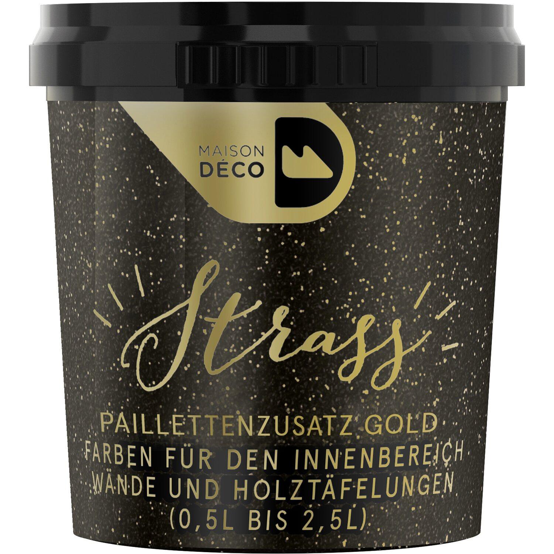 Maisondeco Paillettenzusatz Fur Wandfarbe Gold 25 G Kaufen Bei Obi