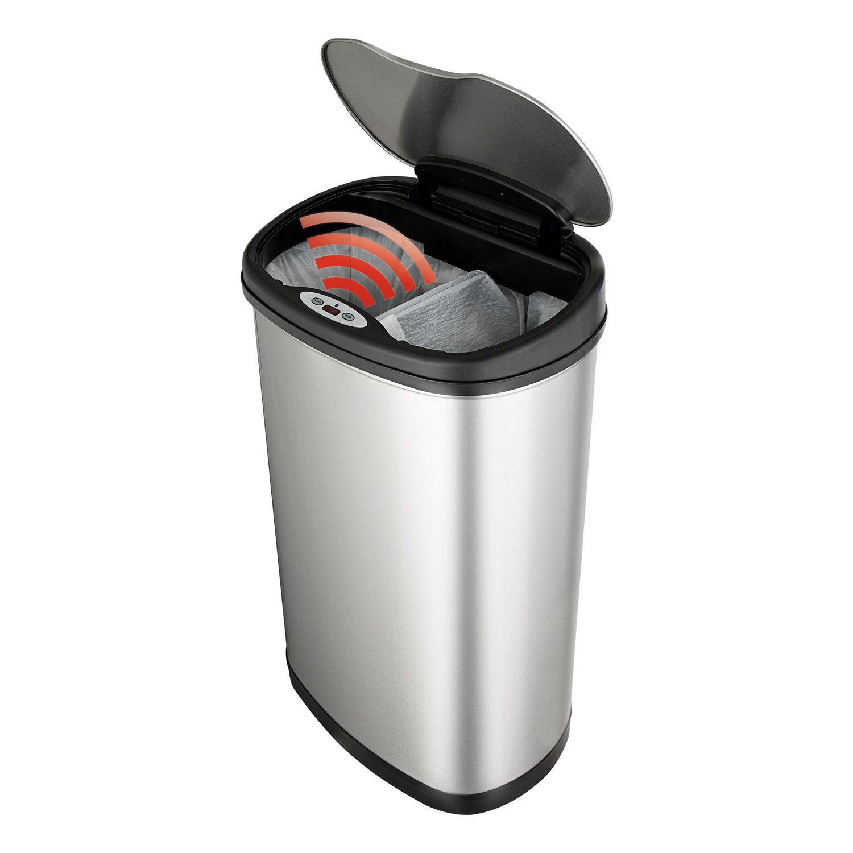 Mülleimer mit Sensor und Mülltrennsystem 19 l + 19 l