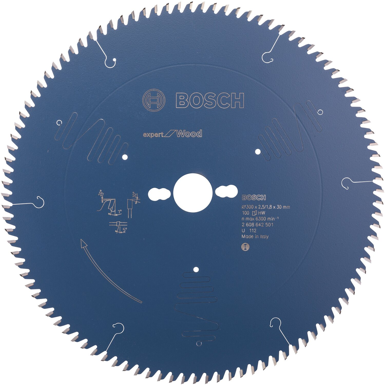 Bosch Professional Kreiss/ägeblatt Expert for Wood Holz, 120 x 20 x 1,7 mm, 24 Z/ähne, Zubeh/ör Akku Kreiss/äge