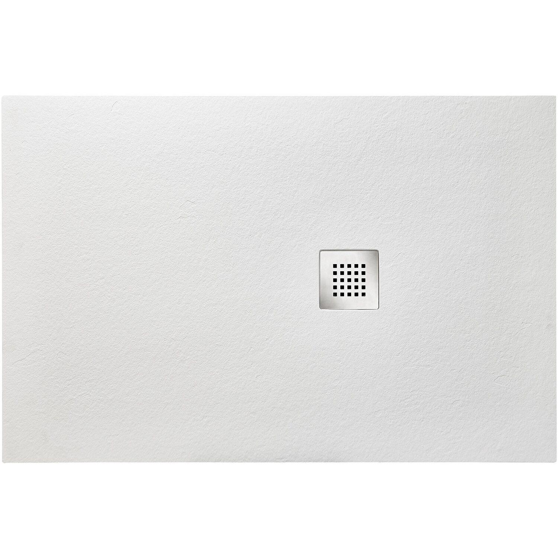 Ottofond Duschwanne Strato 100 cm x 80 cm x 2,4 cm Weiß | Bad > Duschen > Duschwannen | Ottofond