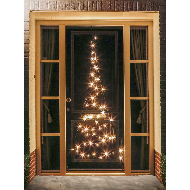fairybell led t r weihnachtsbaum 60 warmwei e leds innen und au en kaufen bei obi. Black Bedroom Furniture Sets. Home Design Ideas