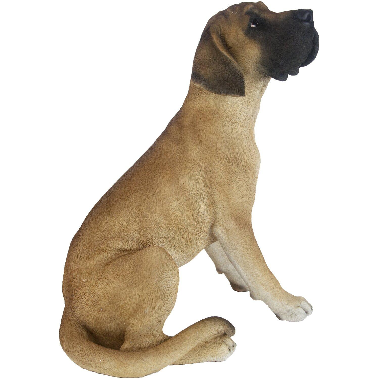 Hund Deko.Deko Figur Hund Deutsche Dogge 53 Cm