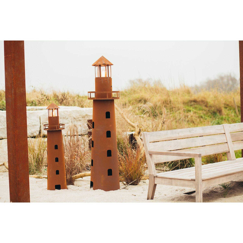 Ferrum Art Design Deko Skulptur Leuchtturm Norddeutschland 116 Cm