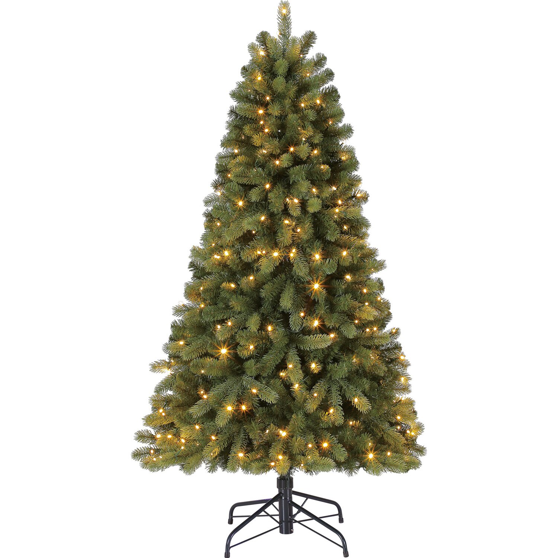 k nstlicher weihnachtsbaum laitila led beleuchtet 150 cm. Black Bedroom Furniture Sets. Home Design Ideas