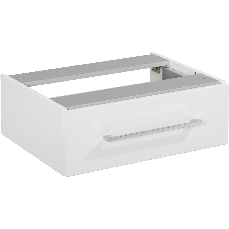 Fackelmann Unterbauschrank 60 cm Hype 3.0 Weiß 1 Schublade