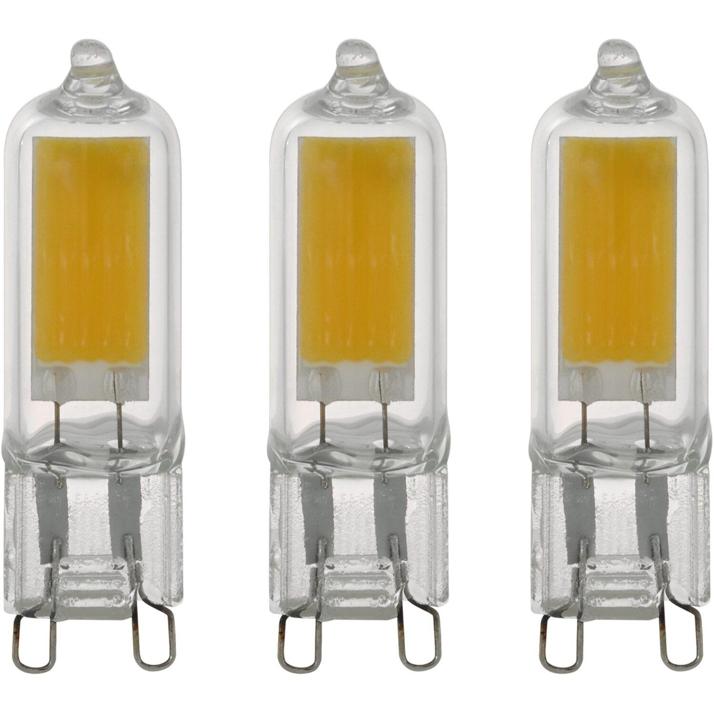 Eglo LED Leuchtmittel 9er Set G9/9 W 950 lm Warmweiß 9.9 K EEK A++