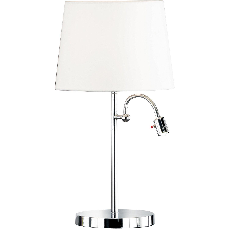 Fischer & Honsel Tischleuchte Lebon EEK: A++ - E | Lampen > Tischleuchten > Beistelltischlampen | Textil | Fischer & Honsel