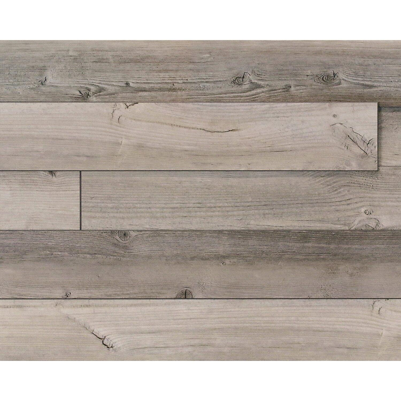 3D Wand- und Deckenpaneele Kronowall Mountain Hut Pine Dekor Holz Graubraun