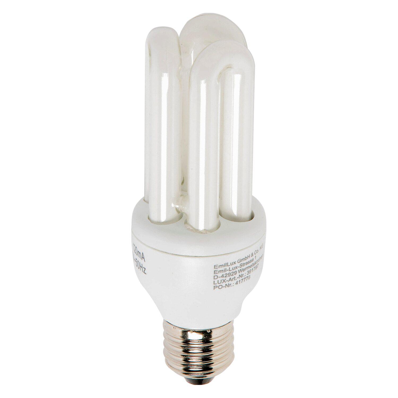 Energiesparlampe E27 / 15 W (800 lm) Warmweiß E...