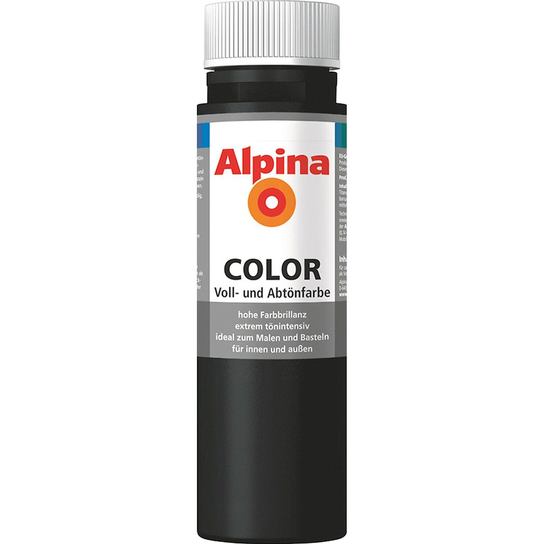 Alpina  Color Night Black seidenmatt 250 ml