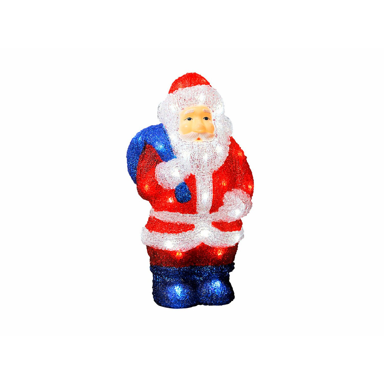 Konstsmide Weihnachtsbeleuchtung.Konstsmide Led Weihnachtsmann Acryl 36 Cm Kaltweiß