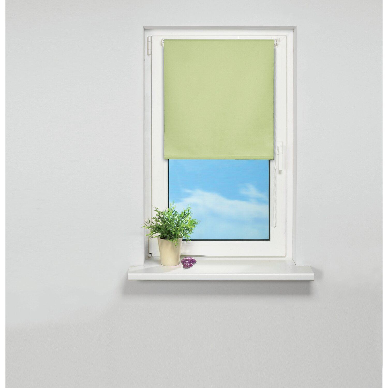 Jalousien Zum Einhängen Ins Fenster obi sonnenschutz rollo plona 140 x175 cm hellgrün kaufen bei obi