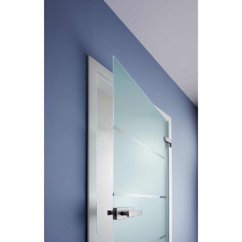 OBI Glasdrehtür Banda Satiniert mit Streifen 83,4 cm x 197,2 cm ...