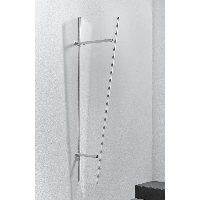 Gutta  Seitenblende PT/ET Silber Eloxiert 185 cm x 60 cm x 30 cm