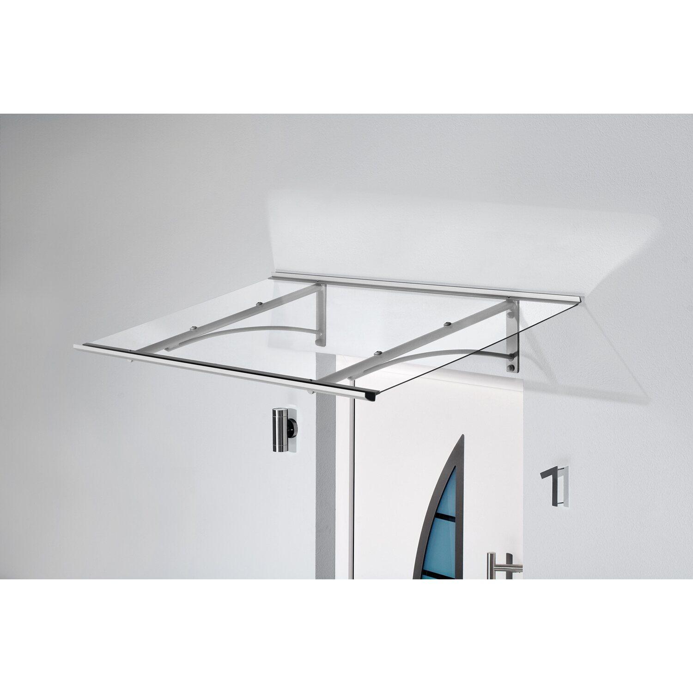 Gutta Pultvordach PT/GR 160 Edelstahloptik 27 cm x 160 cm x 90 cm | Baumarkt > Modernisieren und Baün > Vordächer | Gutta