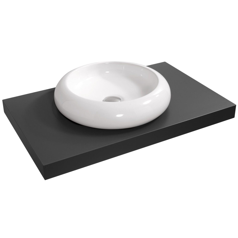 Waschbecken rund mit unterschrank  OBI Aufsatzwaschbecken Imia 45 x 45 cm rund kaufen bei OBI