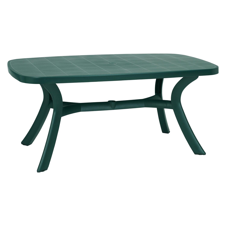 Gartentisch 100x100 Cm.Tisch Kansas Oval 192 Cm X 105 Cm Grün