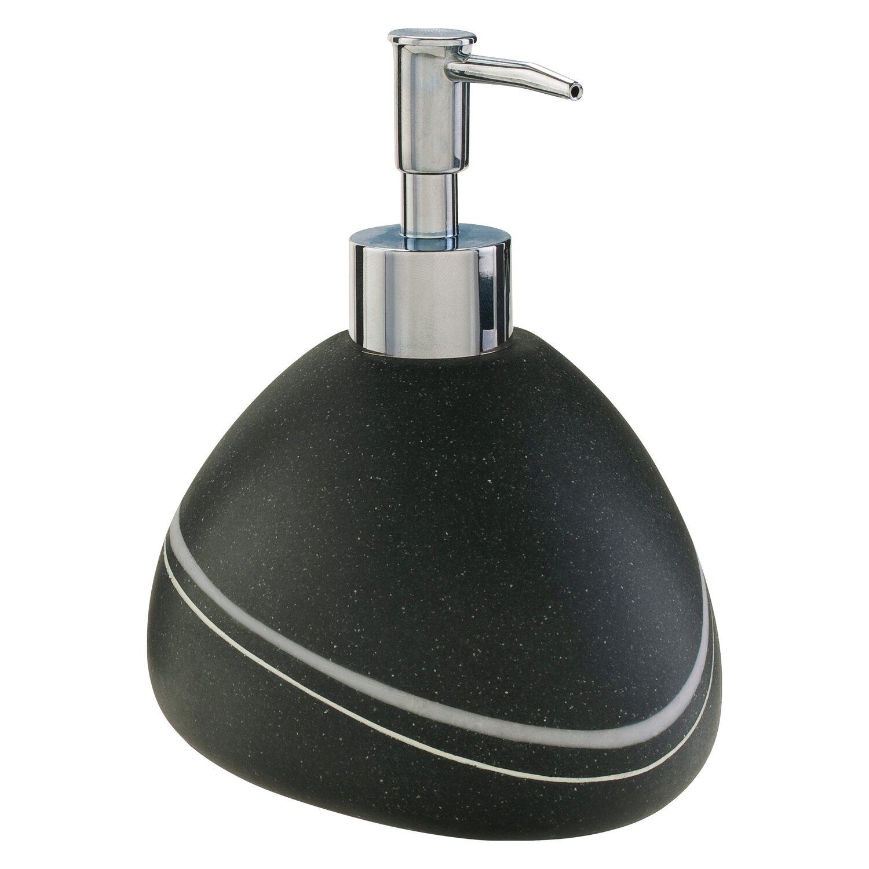 Seifenspender Stein schwarz kaufen bei OBI | {Seifenspender stein 43}