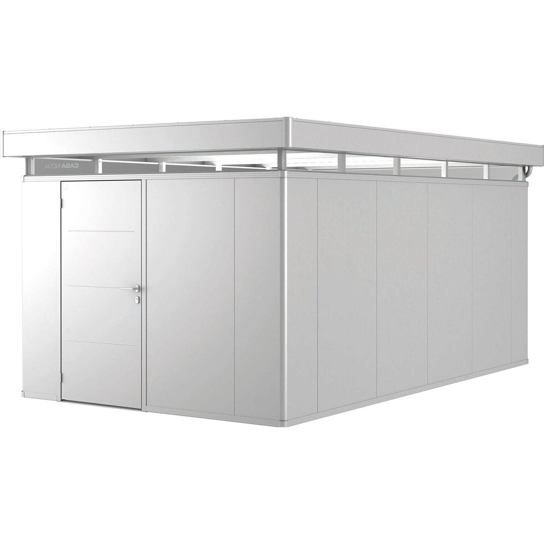 biohort nebengeb ude casanova 3 x 5 silber metallic t r links kaufen bei obi. Black Bedroom Furniture Sets. Home Design Ideas