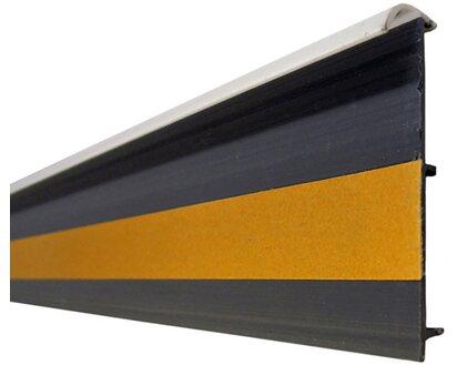 System 10 Teppichleiste Mit Steg Weiss 55 Mm X 14 Mm Lange 2500 Mm Kaufen Bei Obi
