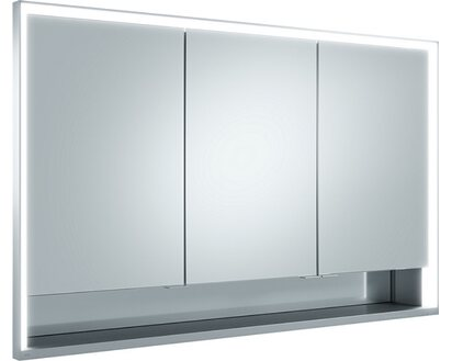 Keuco Spiegelschrank 120 cm Royal Lumos silber eloxiert EEK: A - A++