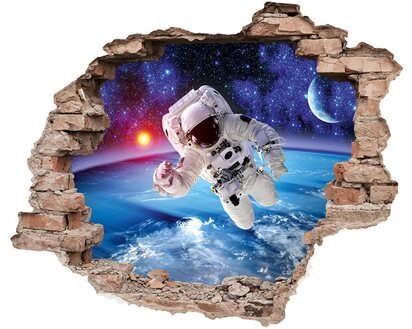 Eurographics Wandtattoo Astronaut Spaceman Kaufen Bei Obi