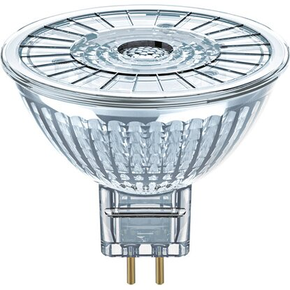 Osram LED-Reflektorlampe MR16 GU5.3 / 4,6 W (350 lm) Warmweiß 2er-Pack EEK: A+