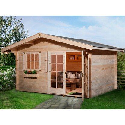 obi holz gartenhaus panorama 380 cm x 300 cm kaufen bei obi. Black Bedroom Furniture Sets. Home Design Ideas
