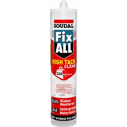 Fix All High Tack Clear Kraftkleber 305 g