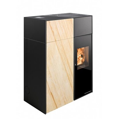 haas sohn pelletofen catania speckstein kaufen bei obi. Black Bedroom Furniture Sets. Home Design Ideas