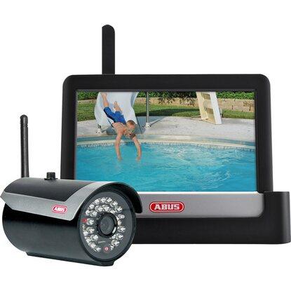 abus berwachungskamera set tvac16000a mit funk au enkamera 7 tft monitor kaufen bei obi. Black Bedroom Furniture Sets. Home Design Ideas