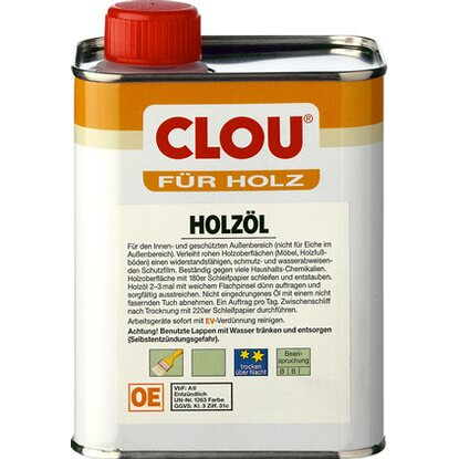 Clou Holzöl Transparent 250 ml