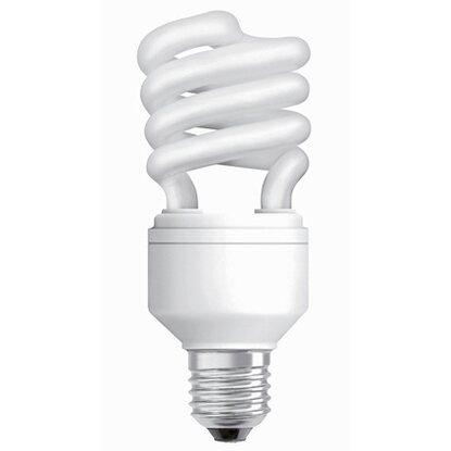 osram energiesparlampe spiralform e27 20 w 1300 lm warmwei eek a kaufen bei obi. Black Bedroom Furniture Sets. Home Design Ideas