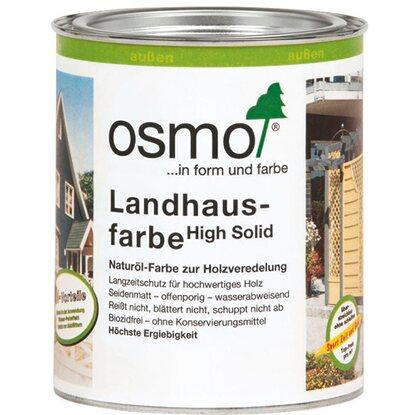 Holzfarbe Weiß osmo landhausfarbe weiss 750 ml kaufen bei obi