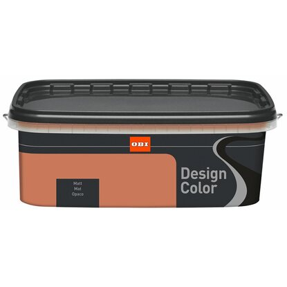 OBI Design Color Mokka matt 1 l