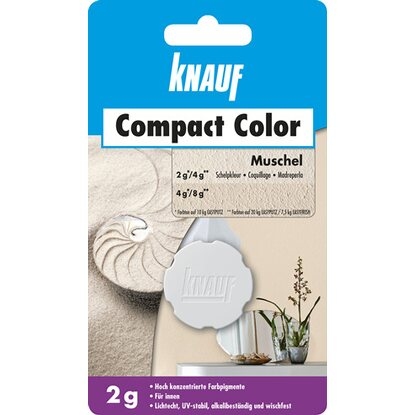 Knauf Compact Color Muschel 2 g