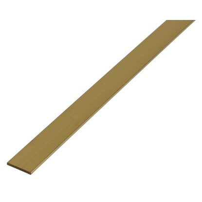 Flachstange Messing 2,5 mm x 7 mm x 1000 mm