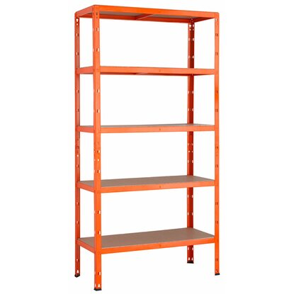 metall schwerlast steckregal orange 180 cm x 90 cm x 40 cm kaufen bei obi. Black Bedroom Furniture Sets. Home Design Ideas