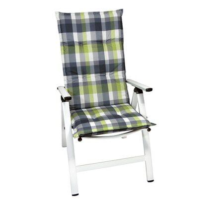 hochlehner auflage langeoog gr n grau kariert kaufen bei obi. Black Bedroom Furniture Sets. Home Design Ideas