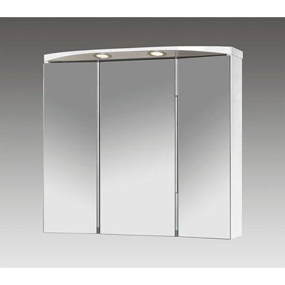 jokey spiegelschrank lauria led 70 cm x 64 cm x 22 cm wei eek a kaufen bei obi. Black Bedroom Furniture Sets. Home Design Ideas