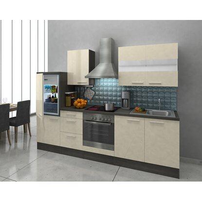 respekta premium k chenzeile rp270evac 270 cm vanille eiche grau nachbildung kaufen bei obi. Black Bedroom Furniture Sets. Home Design Ideas